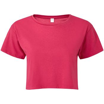 vaatteet Naiset Topit / Puserot Tridri TR019 Hot Pink