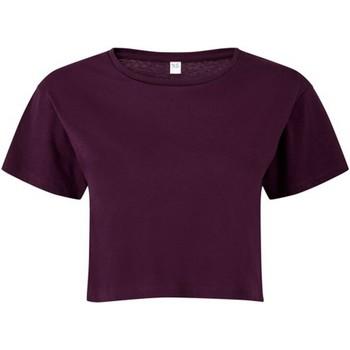 vaatteet Naiset Topit / Puserot Tridri TR019 Mulberry