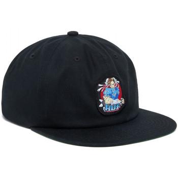 Asusteet / tarvikkeet Miehet Lippalakit Huf Cap chun-li snapback hat Musta