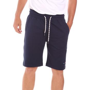 vaatteet Miehet Shortsit / Bermuda-shortsit Key Up 2F38E 0001 Sininen