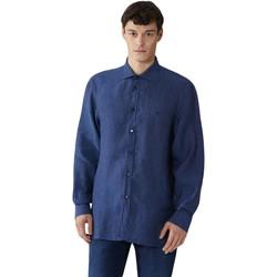 vaatteet Miehet Pitkähihainen paitapusero Trussardi 52C00212-1T002248 Sininen