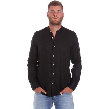 vaatteet Miehet Pitkähihainen paitapusero Refrigiwear RM0C10100LI9110 Musta