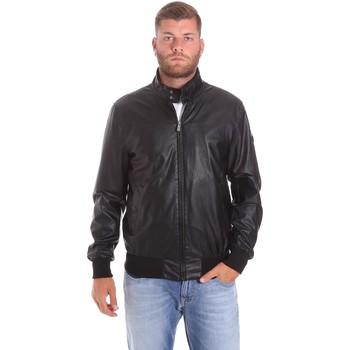 vaatteet Miehet Pusakka Lumberjack CMB3124 001EU Musta