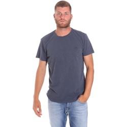vaatteet Miehet Lyhythihainen t-paita Lumberjack CM60343 021EU Sininen