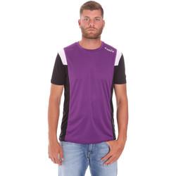 vaatteet Miehet Lyhythihainen t-paita Diadora 102175719 Violetti