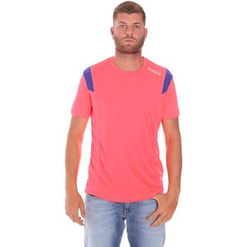 vaatteet Miehet Lyhythihainen t-paita Diadora 102175719 Vaaleanpunainen