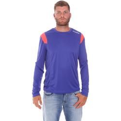 vaatteet Miehet T-paidat pitkillä hihoilla Diadora 102175720 Sininen