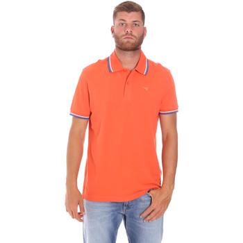 vaatteet Miehet Lyhythihainen poolopaita Diadora 102161006 Oranssi