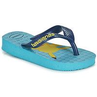 kengät Pojat Varvassandaalit Havaianas KIDS TOP POKEMON Sininen