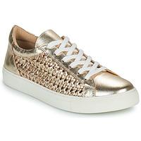 kengät Naiset Matalavartiset tennarit Cosmo Paris WELLY Kulta
