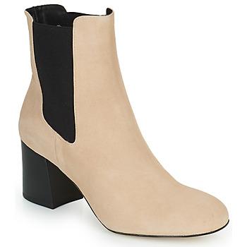 kengät Naiset Nilkkurit Cosmo Paris LACADO 2 Beige