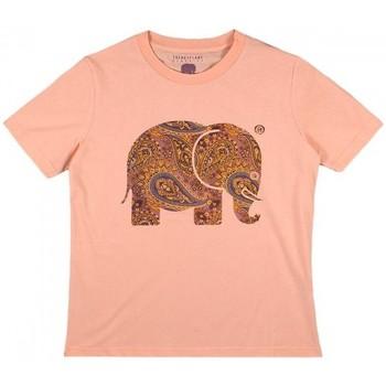 vaatteet Naiset Paitapusero / Kauluspaita Trendsplant CAMISETA MUJER  029970WPTP Oranssi