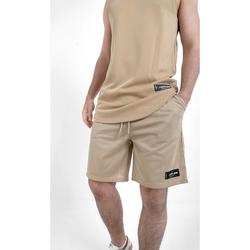 vaatteet Miehet Shortsit / Bermuda-shortsit Sixth June Short  Mesh beige