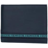 laukut Miehet Lompakot Bikkembergs E2BPME2D3043 BLUE