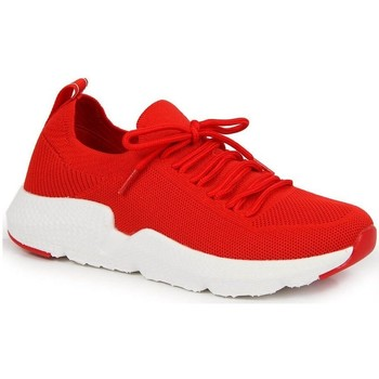 kengät Naiset Matalavartiset tennarit American Club INT1099C Punainen