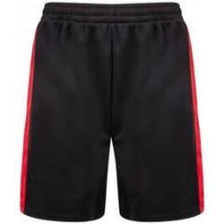 vaatteet Miehet Shortsit / Bermuda-shortsit Finden & Hales LV885 Black/Red
