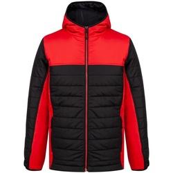 vaatteet Miehet Toppatakki Finden & Hales LV660 Black/Red