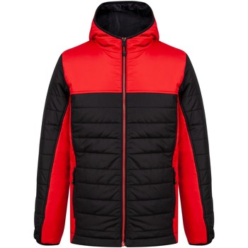 vaatteet Toppatakki Finden & Hales LV660 Black/Red