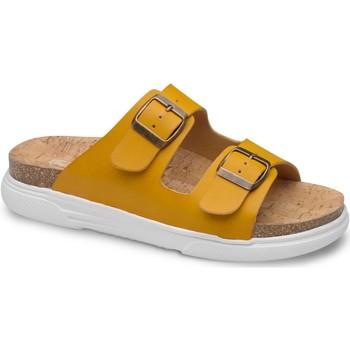 kengät Naiset Sandaalit Feliz Caminar SANDALIA BELONA - Keltainen