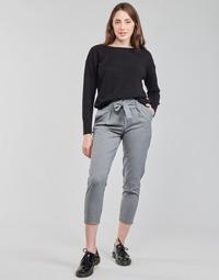 vaatteet Naiset Chino-housut / Porkkanahousut Only ONLNICOLE Harmaa
