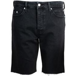 vaatteet Miehet Shortsit / Bermuda-shortsit Calvin Klein Jeans  Musta