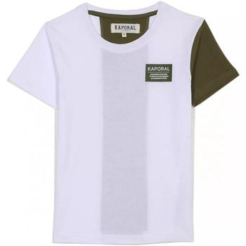 vaatteet Lapset Lyhythihainen t-paita Kaporal MINOR Valkoinen