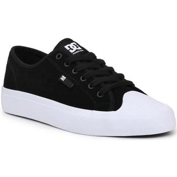 kengät Miehet Matalavartiset tennarit DC Shoes Manual RT S Mustat