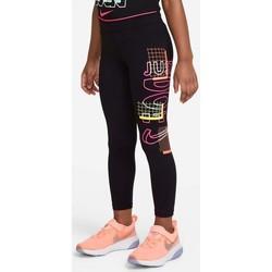 vaatteet Tytöt Legginsit Nike MALLAS ENTRENAMIENTO NIÑA  36H465 Musta