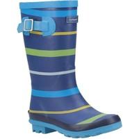 kengät Pojat Kumisaappaat Cotswold  Blue/Green/Yellow