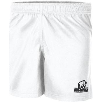 vaatteet Lapset Shortsit / Bermuda-shortsit Rhino  White