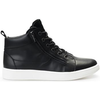 kengät Miehet Korkeavartiset tennarit Calvin Klein Jeans  Musta