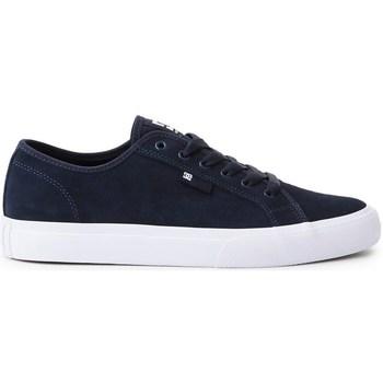 kengät Miehet Matalavartiset tennarit DC Shoes Manual S Mustat