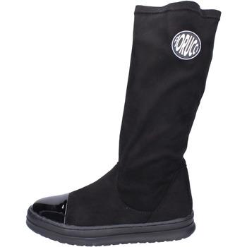 kengät Tytöt Saappaat Fiorucci  Musta