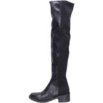 kengät Naiset Ylipolvensaappaat Olga Rubini BH523 Musta