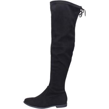 kengät Naiset Ylipolvensaappaat Péché Originel BH524 Musta