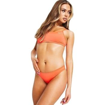 vaatteet Naiset Kaksiosainen uimapuku Nike Essential Racerback Bikini Top Vaaleanpunainen