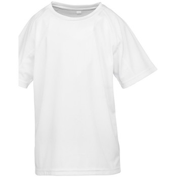 vaatteet Pojat Lyhythihainen t-paita Spiro S287J White