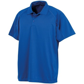 vaatteet Miehet Lyhythihainen poolopaita Spiro S288X Royal Blue