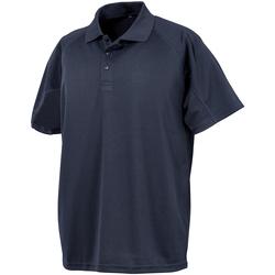 vaatteet Miehet Lyhythihainen poolopaita Spiro S288X Navy Blue