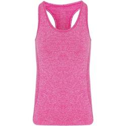 vaatteet Naiset Hihattomat paidat / Hihattomat t-paidat Tridri TR209 Pink