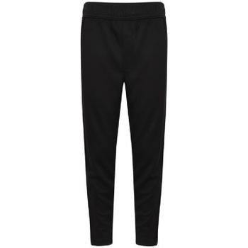 vaatteet Pojat Verryttelyhousut Finden & Hales  Black/White