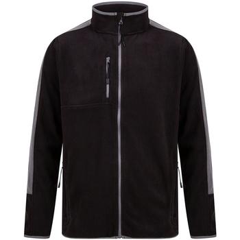 vaatteet Fleecet Finden & Hales LV580 Black/Gunmetal