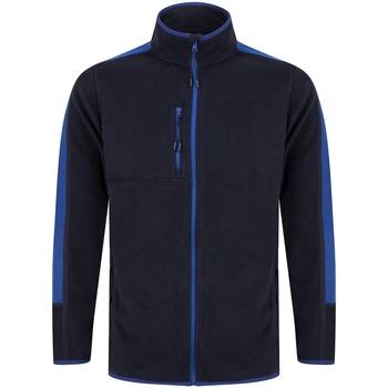 vaatteet Fleecet Finden & Hales LV580 Navy/Royal Blue
