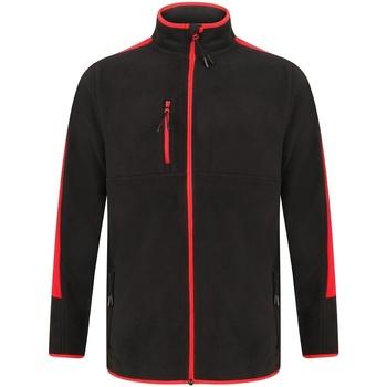 vaatteet Fleecet Finden & Hales LV580 Black/Red