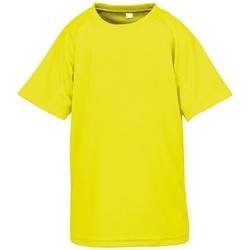 vaatteet Lapset Lyhythihainen t-paita Spiro SR287B Flo Yellow