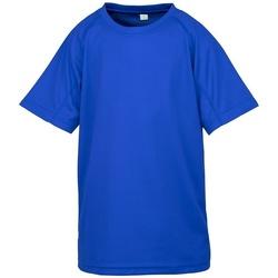 vaatteet Lapset Lyhythihainen t-paita Spiro SR287B Royal