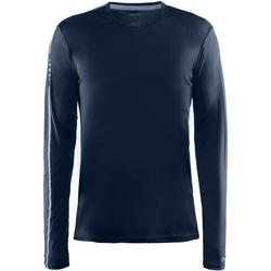 vaatteet Miehet T-paidat pitkillä hihoilla Craft CT089 Navy