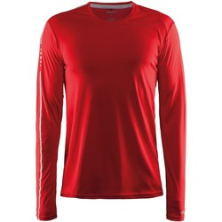 vaatteet Miehet T-paidat pitkillä hihoilla Craft CT089 Red