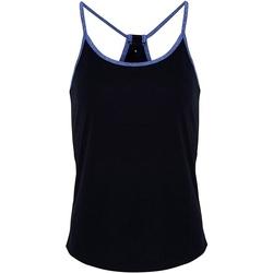 vaatteet Naiset Topit / Puserot Tridri TR043 French Navy/Blue Melange