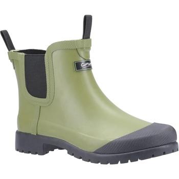 kengät Naiset Kumisaappaat Cotswold  Green